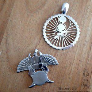 Sieraden Graancirkels zilver