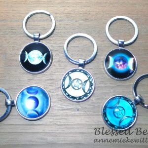 Sleutelhangers Triple Moon